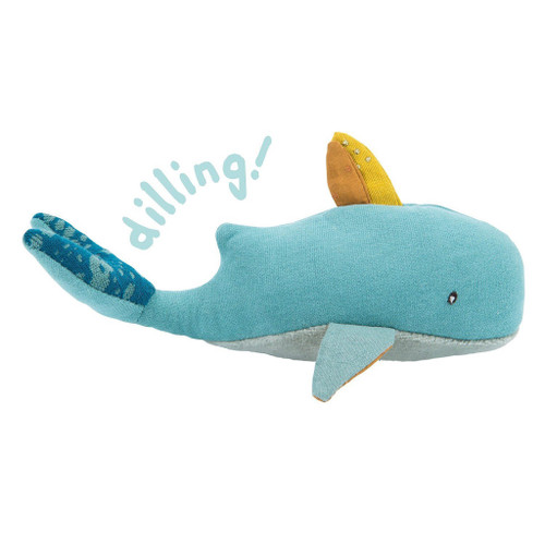 Josephine the Whale Baby Rattle