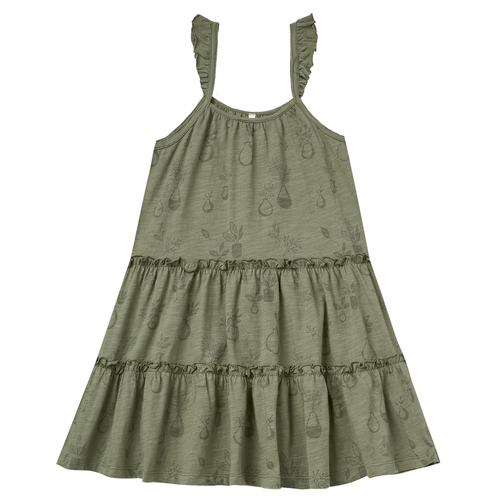 Rylee & Cru Tiered Jersey Dress, Potted Plants