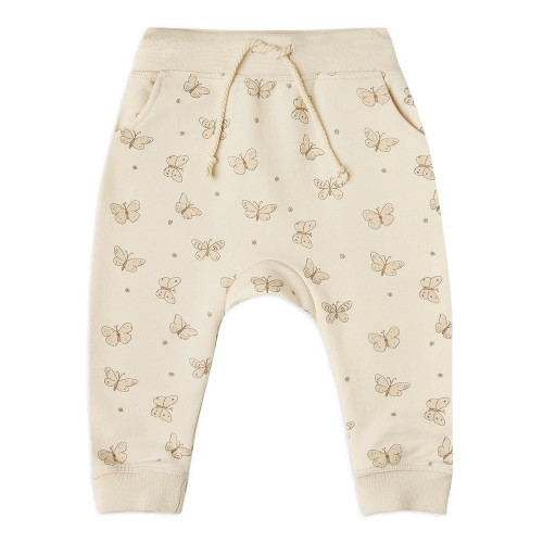 Rylee & Cru French Terry Sweatpant, Butterfly
