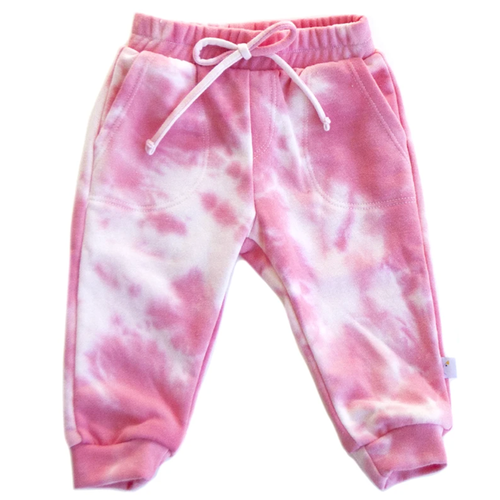 French Terry Jogger, Pink Sugar