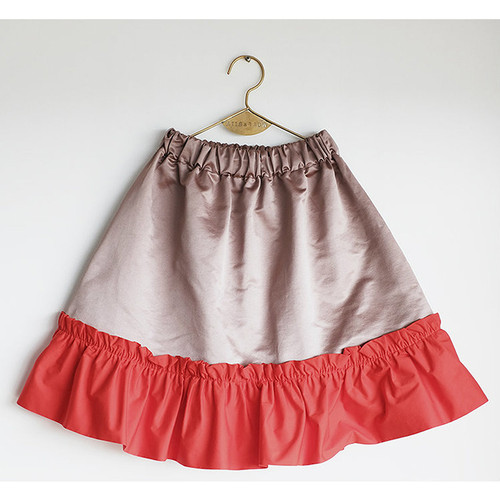 Wolf & Rita Conceicao Skirt, Pink Red