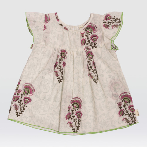 Feather Drum Indian Summer Smock Top