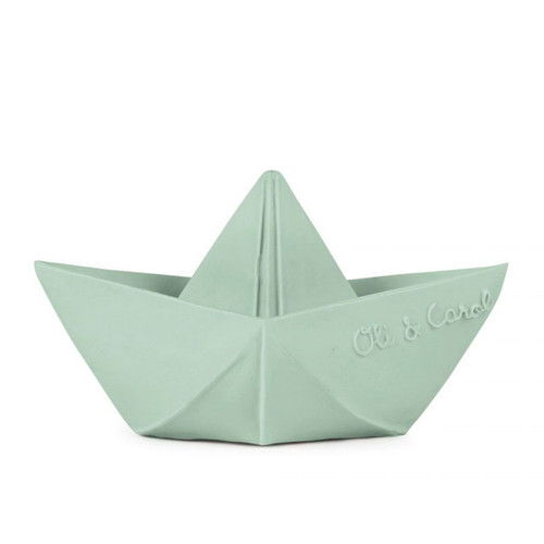 Origami Boat Teether, Mint