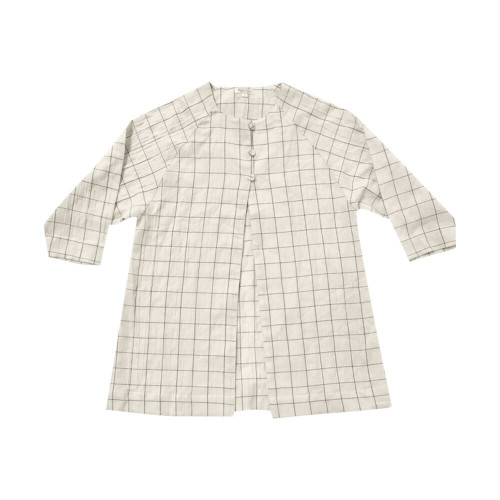 Rylee & Cru Check Woven Duster