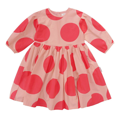 Polka Dot Full-Length Dress