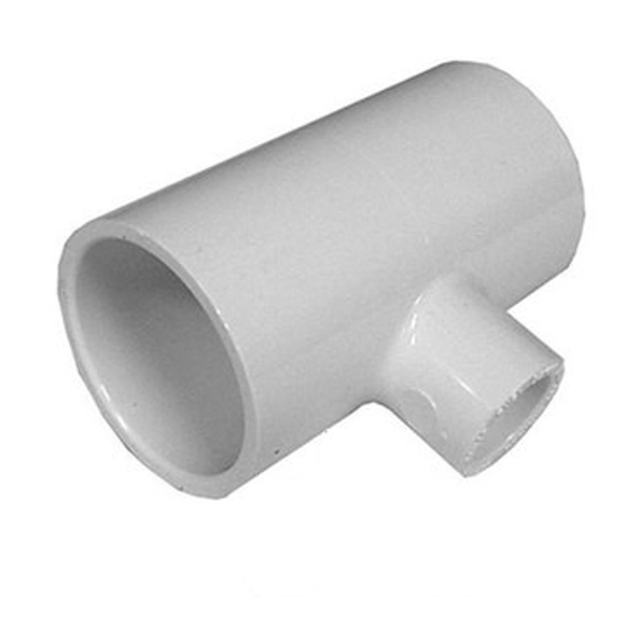 "Dura PVC Schedule 40 Slip Reducing Tee 1/"" x 3//4/"" x 1/"" Fitting"