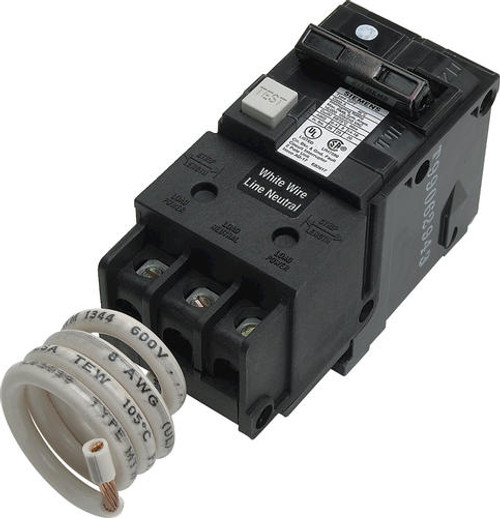 wiring on two pole circuit breaker gfci image about wiring siemens 40 amp gfci double pole breaker in wiring on two pole circuit breaker gfci image about wiring