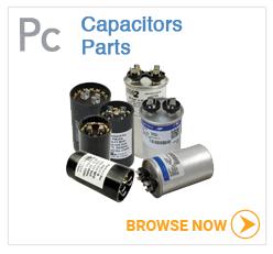 Hot tub pump capacitors