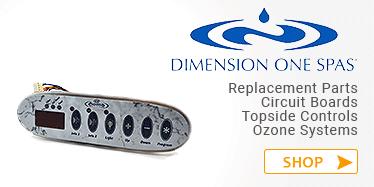 Dimension One Spas Parts in Canada