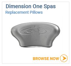 Dimension One Spas Pillows