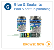 Hot tub glue and sealant