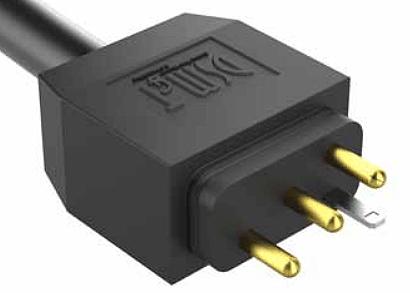 Mini J&J pump cord with plug