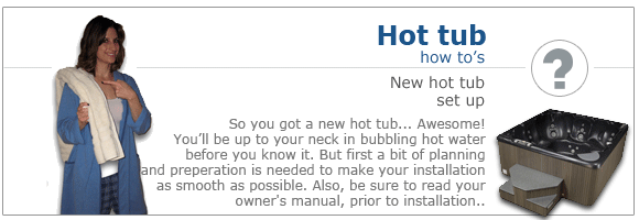 Setting Up a New Hot Tub | Canada on