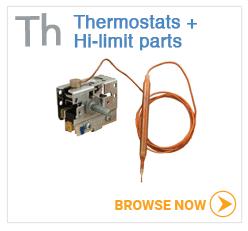 Hot tub thermostats and hi-limit parts