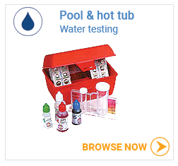 Pool & spa water testing