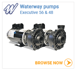 Waterway executive 48 & 56 pumps