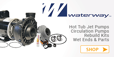 Waterway Hot tub pumps and pump parts