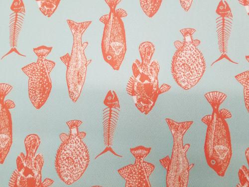 Sunbrella Fish Bones Guava