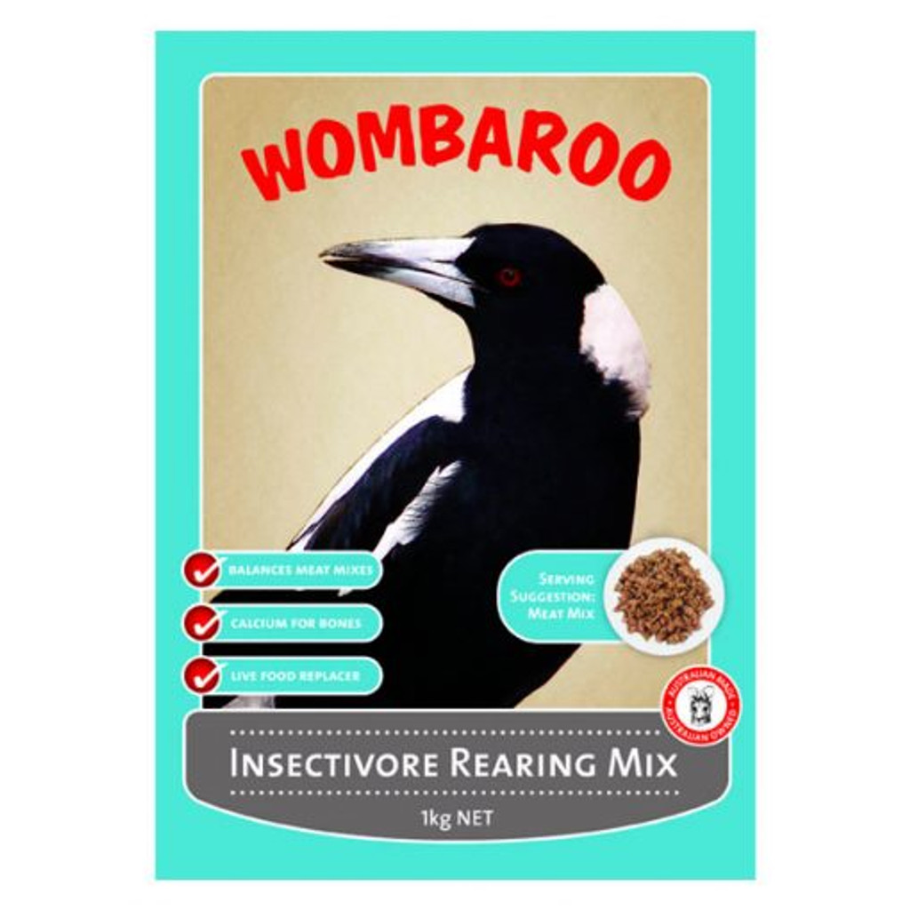 Wombaroo insectavore rearing mix 1kg