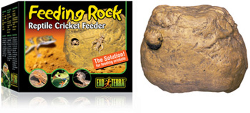 Exo Terra Cricket Feeder Rock