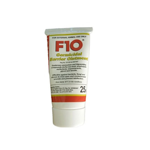 F10 ointment wound care reptile bird