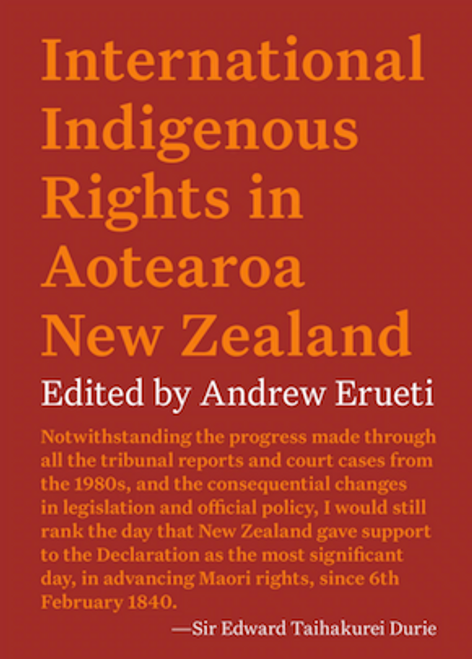Aotearoa and Implementation of the UN Declaration on the Rights of Indigenous Peoples