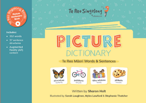 Picture Dictionary: Te Reo Words and Sentences