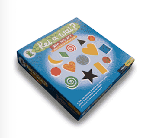 Kei a Wai: Colours and Shapes Game
