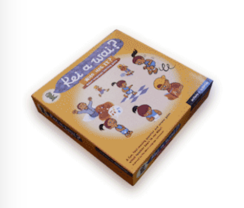 Kei a Wai: Actions and Activities Game