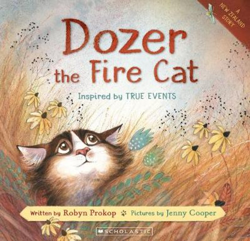 Dozer the Fire Cat