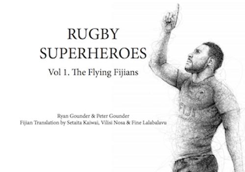 Rugby Superheroes Vol. 1: The Flying Fijians