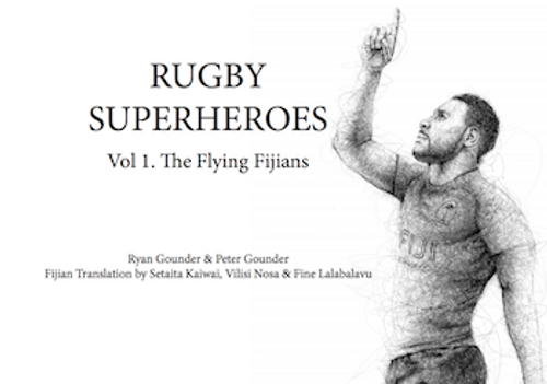 Rugby Superheroes Vol. 1: The Flying Fijians