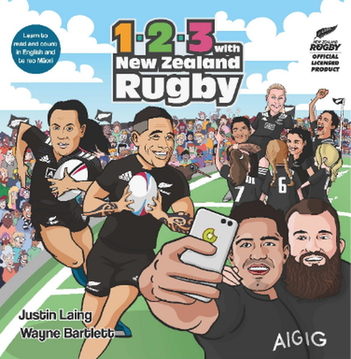 123 with New Zealand Rugby