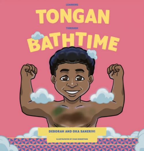 Learning Tongan Through Bathtime