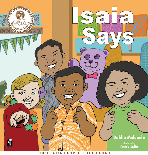Isaia Says / Analia Asks: 2 stories in 1