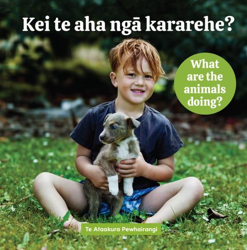 Kei te aha ngā kararehe? What are the animals doing?