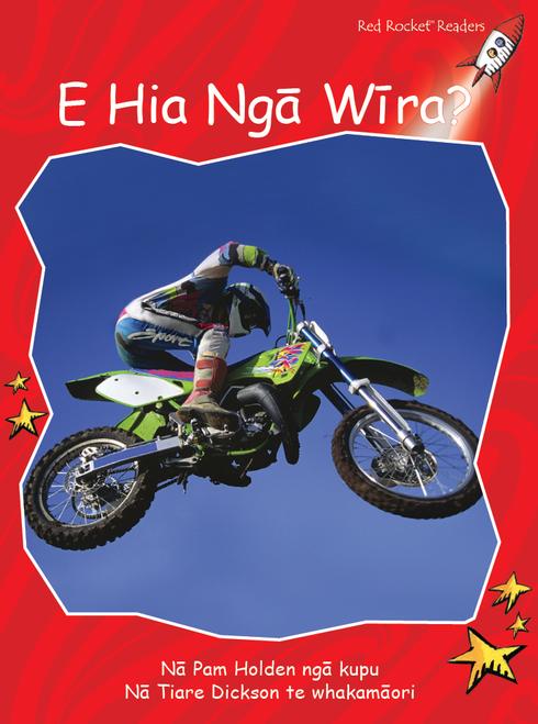 How Many Wheels? te reo Maori - E Hia Nga Wira