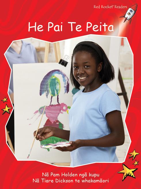 I Like to Paint te reo Maori - He Rawe Te Waituhi