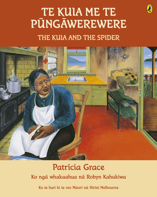 Te Kuia me te Pungawerewere: The Kuia and the Spider
