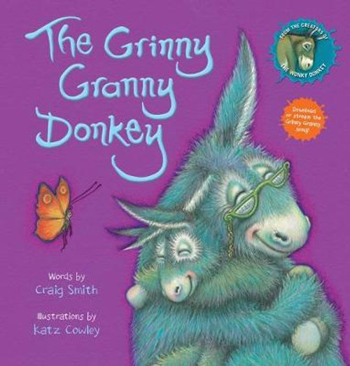 The Grinny Granny Donkey (Board Book)