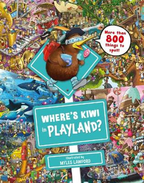 Where's Kiwi in Playland?