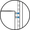 OBox 1 Drawer Unit - Double Hang - Light Oak