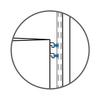 Big OBox 2 Drawer Unit - Double Hang - Light Oak