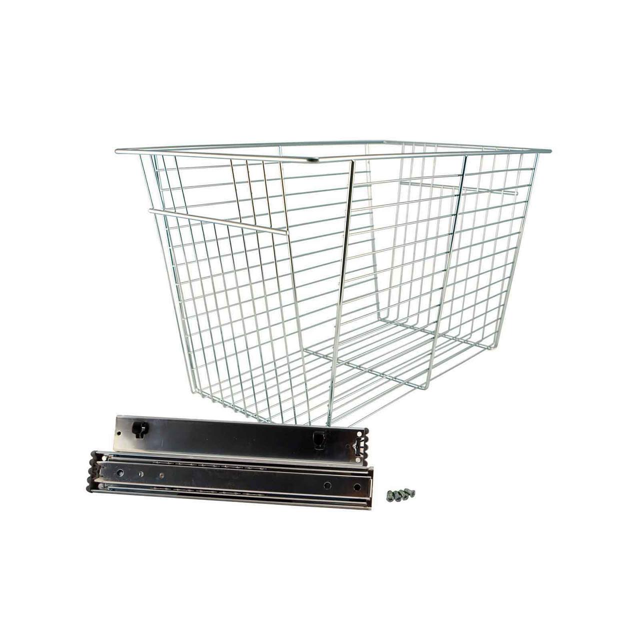 Big OBox Chrome Basket with Glide