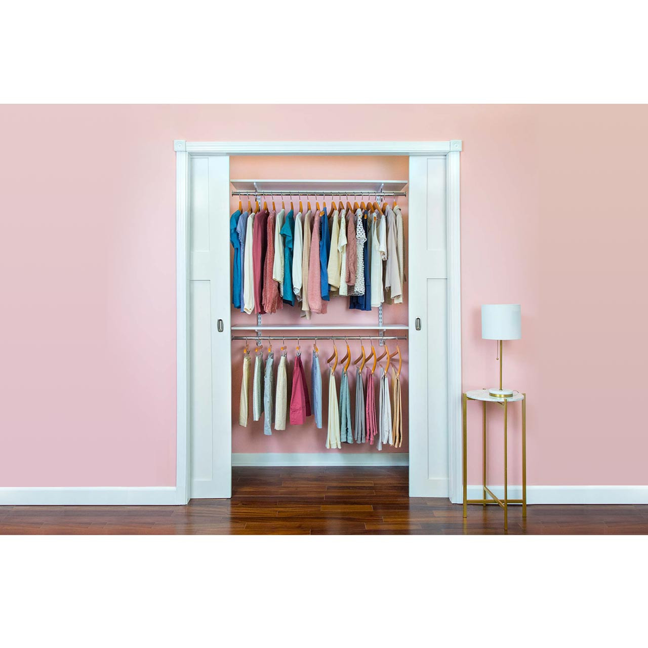 "Organized Essentials Adjustable Closet Kit - 48"""