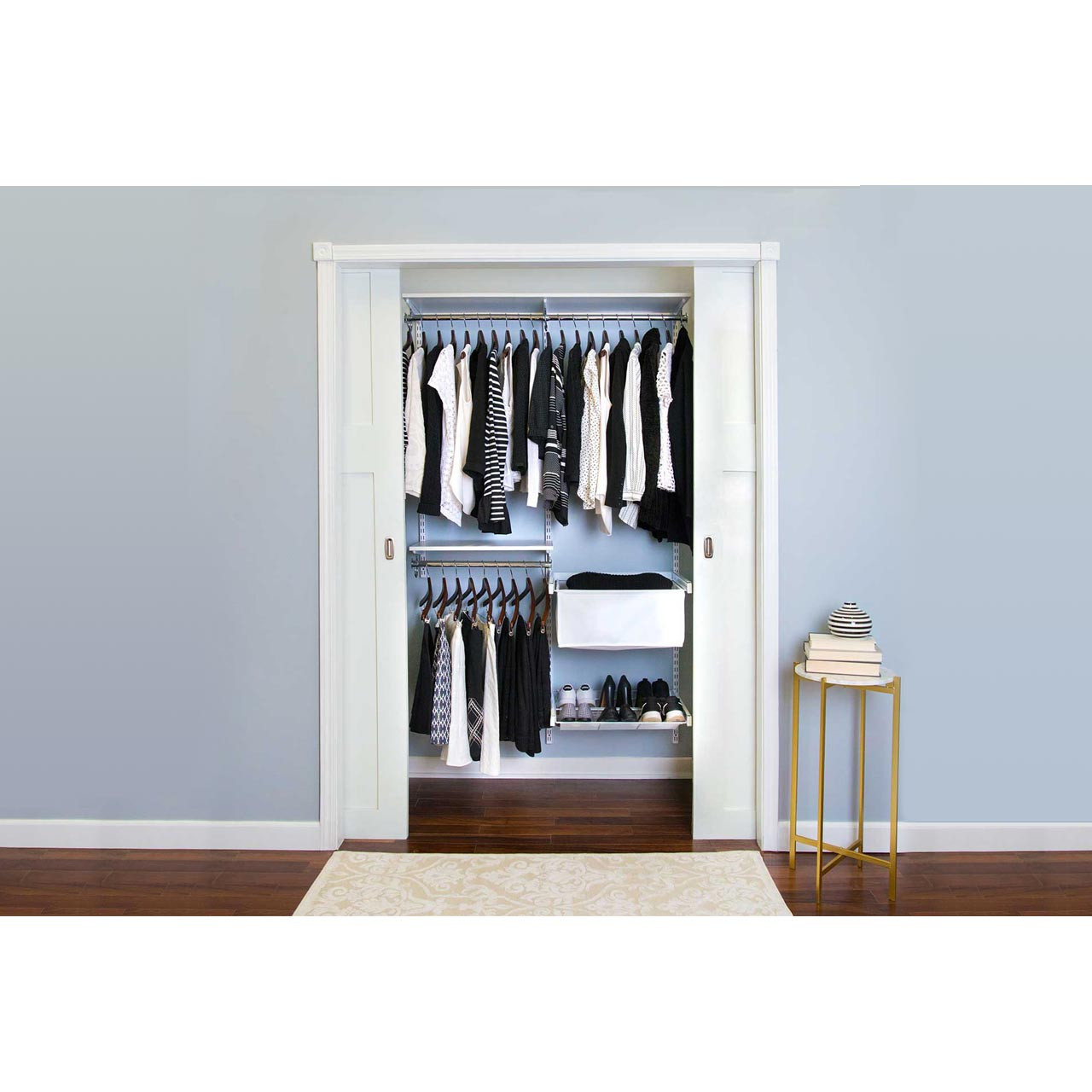 Essentials Plus Adjustable Closet Kit - 48""