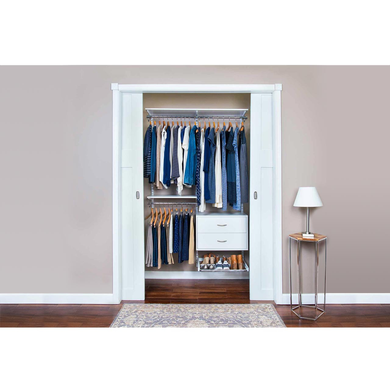 Completely Organized Adjustable Closet Kit - 48""