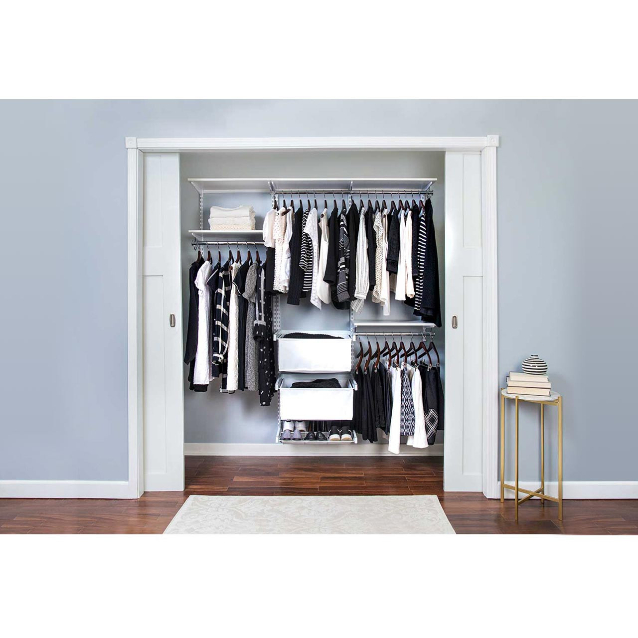 Essentials Plus Adjustable Closet Kit - 72""