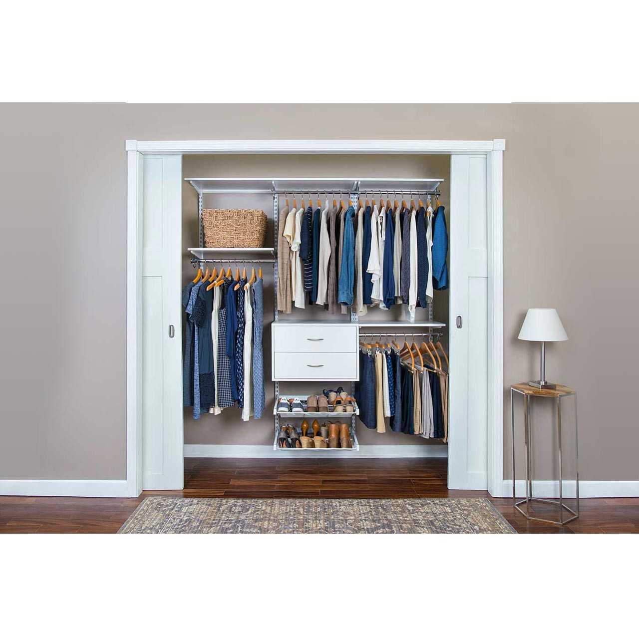 Completely Organized Adjustable Closet Kit - 72""