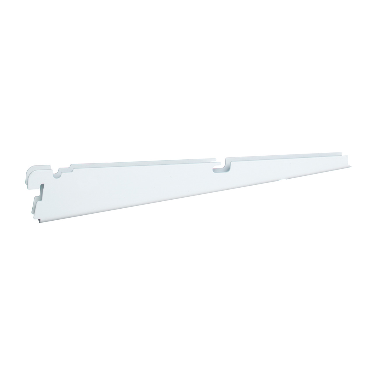 Ventilated Shelf Bracket for Clothes Rod